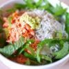 アンチエイジング食レシピ!焼紅鮭とちりめんじゃこの 美肌わさびとろろ丼