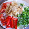 アンチエイジング料理レシピ!豚しゃぶのさっぱりおろしポン酢サラダ