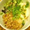 アンチエイジング料理!山芋納豆オクラネバネバ丼のレシピ・作り方