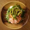 サーモンとアボカドの丼 / salmon and avocado bowl 【アンチエイジング】 レシピ・作り方