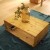 【おすすめDIY】コーヒー染め!木のテーブルの着色方法【ステインなし木材塗装】