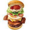 【衝撃の値段・カロリー】ロッテリアの全部のせバーガーを食べてみた/期間限定メニュー
