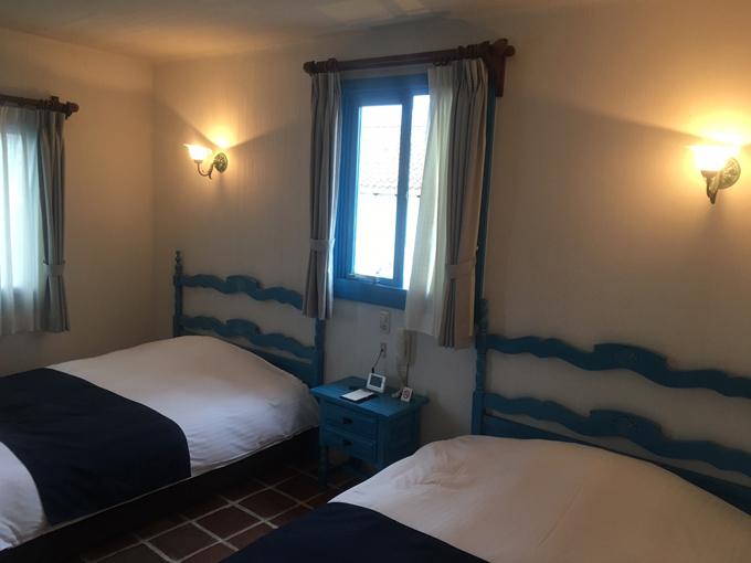 地中海村の部屋